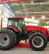 Tractoare Belarus la Expozitia Internationala AGROSALON-2014